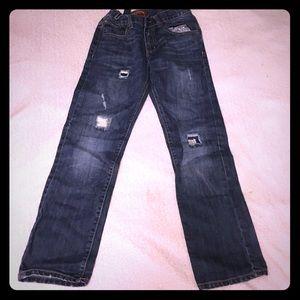 Boys Adjustable Waist Denim Jeans
